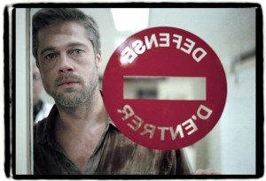 Globally grim: Brad Pitt in 'Babel'