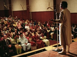 A man in search of an audience