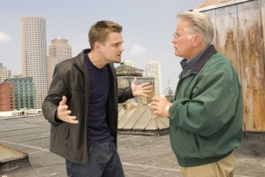 Leonardo DiCaprio and Martin Sheen in 'The Departed'