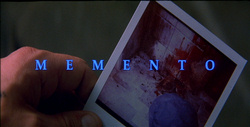 The opening shot of 'Memento'