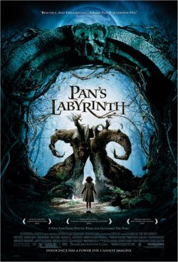 Spot the vagina: a poster for 'Pan's Labyrinth'