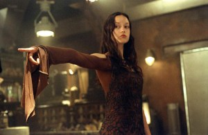 Another of Whedon's ass-kicking hotties: Summer Glau in 'Serenity'