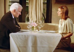 Steve Martin and Claire Danes